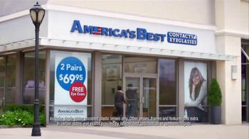 America's Best Contacts and Eyeglasses TV Spot, 'Who?' - Thumbnail 6