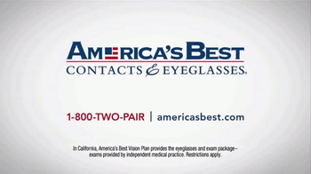 America's Best Contacts and Eyeglasses TV Spot, 'Who?' - Thumbnail 9