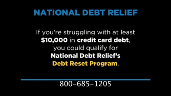 National Debt Relief TV Spot, 'Credit Card Debt'