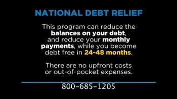 National Debt Relief TV Spot, 'Credit Card Debt' - Thumbnail 2