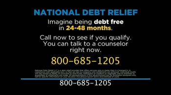 National Debt Relief TV Spot, 'Credit Card Debt' - Thumbnail 3