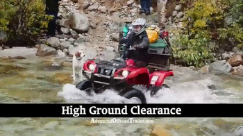 Advanced Offroad Trailer TV Spot, 'Take Your Gear Just About Anywhere' - Thumbnail 1