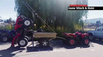 Advanced Offroad Trailer TV Spot, 'Take Your Gear Just About Anywhere' - Thumbnail 4