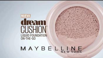 Maybelline New York Dream Cushion TV Spot, 'Rostro fresco' [Spanish] - Thumbnail 2