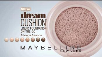Maybelline New York Dream Cushion TV Spot, 'Rostro fresco' [Spanish] - Thumbnail 7