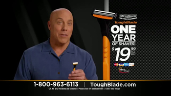 MicroTouch Tough Blade TV Spot, \'Finally Number One\' Featuring Brett Farve