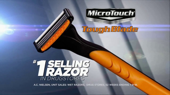 MicroTouch Tough Blade TV Spot, 'Finally Number One' Featuring Brett Farve - Thumbnail 2