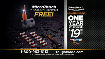 MicroTouch Tough Blade TV Spot, 'Finally Number One' Featuring Brett Farve - Thumbnail 8