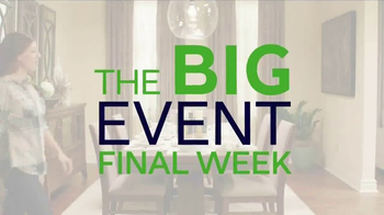 Ashley HomeStore The Big Event TV Spot, 'Big Room Savings: 8-Piece Set' - Thumbnail 3