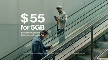 Verizon 5GB Plan TV Spot, 'All the Data You Want' - Thumbnail 6