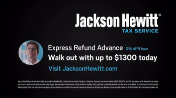 Jackson Hewitt Express Refund Advance TV Spot, 'Ms. Spit' - Thumbnail 9