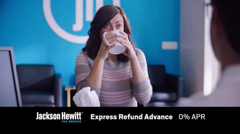 Jackson Hewitt Express Refund Advance TV Spot, 'Ms. Spit' - Thumbnail 3