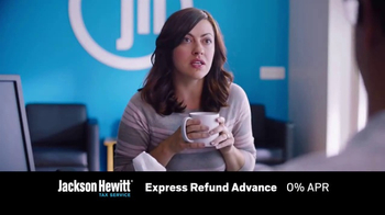 Jackson Hewitt Express Refund Advance TV Spot, 'Ms. Spit' - Thumbnail 4