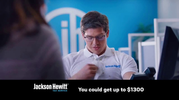Jackson Hewitt Express Refund Advance TV Spot, 'Ms. Spit' - Thumbnail 5