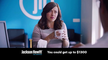Jackson Hewitt Express Refund Advance TV Spot, 'Ms. Spit' - Thumbnail 7