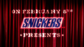 Snickers Super Bowl 2017 Teaser, 'Curtains' - Thumbnail 1