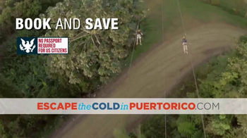 Government of Puerto Rico TV Spot, 'Escape the Cold' - Thumbnail 4