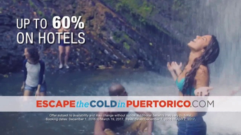 Government of Puerto Rico TV Spot, 'Escape the Cold' - Thumbnail 5