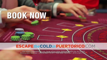 Government of Puerto Rico TV Spot, 'Escape the Cold' - Thumbnail 6