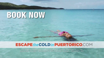 Government of Puerto Rico TV Spot, 'Escape the Cold' - Thumbnail 7