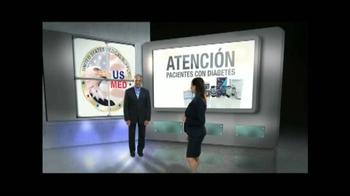 United States Medical Supply TV Spot, 'Nueva medidor de glucosa' [Spanish] - Thumbnail 1