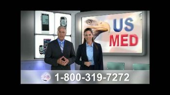 United States Medical Supply TV Spot, \'Nueva medidor de glucosa\' [Spanish]
