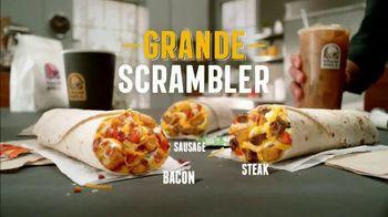 Taco Bell Grande Scrambler TV Spot, 'A Real Breakfast Burrito'