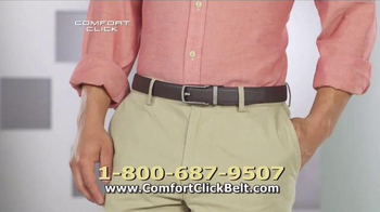 Comfort Click Belt TV Spot, 'Just Right' - Thumbnail 7