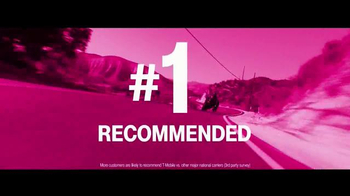 T-Mobile TV Spot, 'Our Coverage Never Quits' - Thumbnail 5