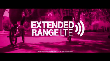 T-Mobile TV Spot, 'Our Coverage Never Quits' - Thumbnail 2