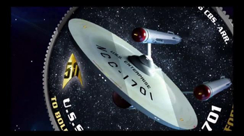 2016 50th Anniversary Star Trek Half Dollars TV Spot, 'Boldly Go' - Thumbnail 2