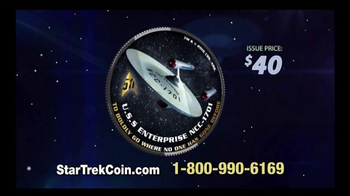 2016 50th Anniversary Star Trek Half Dollars TV Spot, 'Boldly Go' - Thumbnail 4