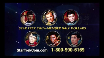 2016 50th Anniversary Star Trek Half Dollars TV Spot, 'Boldly Go' - Thumbnail 5