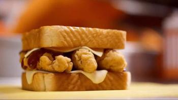 Whataburger Honey BBQ Chicken Strip Sandwich TV Spot, 'After-School Social' - Thumbnail 4