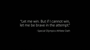Microsoft Cloud TV Spot, 'Special Olympics: Be a Champion' - Thumbnail 2