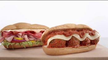 Arby's Loaded Italian & Italian Meatball TV Spot, 'A Place' - 631 commercial airings