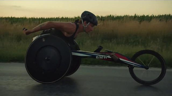 BMW Performance Wheelchair TV Spot, 'Built For Gold' Featuring Josh George - Thumbnail 6