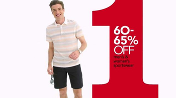 Macy's One Day Sale TV Spot, 'Sportswear for Him and Her' - Thumbnail 3