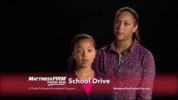 Mattress Firm TV Spot, 'Foster Kids School Drive' - Thumbnail 10