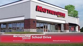 Mattress Firm TV Spot, 'Foster Kids School Drive' - Thumbnail 7