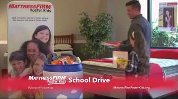 Mattress Firm TV Spot, 'Foster Kids School Drive' - Thumbnail 8