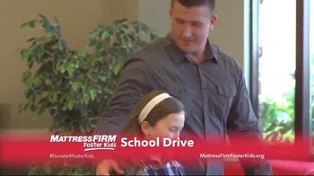 Mattress Firm TV Spot, 'Foster Kids School Drive' - Thumbnail 9
