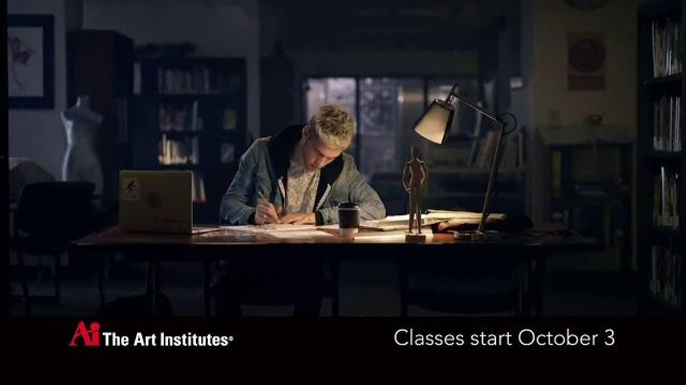 The Art Institutes TV Commercial, 'After Hours: Art Grant'