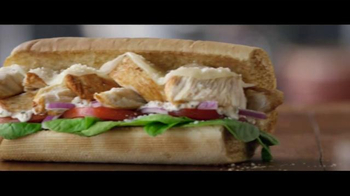 Subway Chicken Caesar Melt TV Spot, 'Better Chicken Is Here!' - 2402 commercial airings