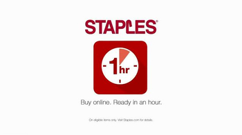 Staples TV Spot, 'Back-to-School Sanity Saver' - Thumbnail 2