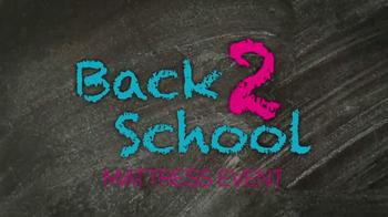 Ashley Furniture Back 2 School Mattress Event TV Spot, 'Four Years' - Thumbnail 1