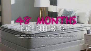 Ashley Furniture Back 2 School Mattress Event TV Spot, 'Four Years' - Thumbnail 4