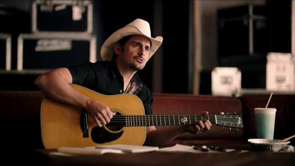 Brad Paisley TV Commercials ISpottv