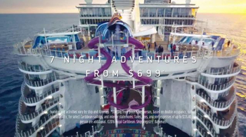 Royal Caribbean Cruise Lines TV Spot, 'Not Page Three' Song by Mapei - Thumbnail 10