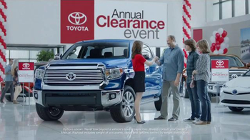 Toyota Annual Clearance Event TV Spot, 'College' - Thumbnail 1